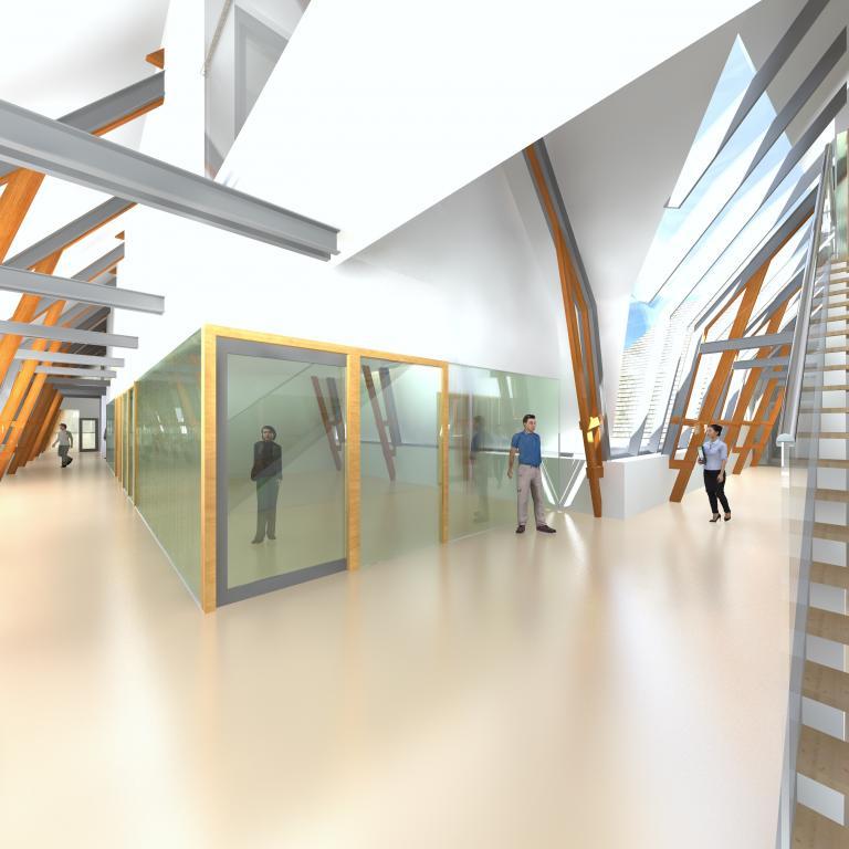 Renovatie, revitalisatie en herindeling Fons Vitae Amsterdam