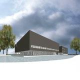 Nieuwbouw OSG sevenwolden te Heerenveen.